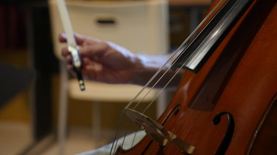 Cello session recorded with a Neumann U87